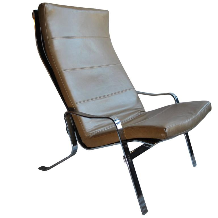Arne Norell Style Midcentury Lounge Chair