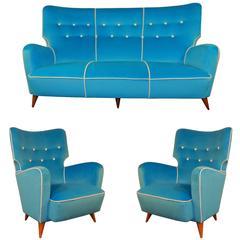 Henri Caillon Living Room Suite Calysse Erton Edition
