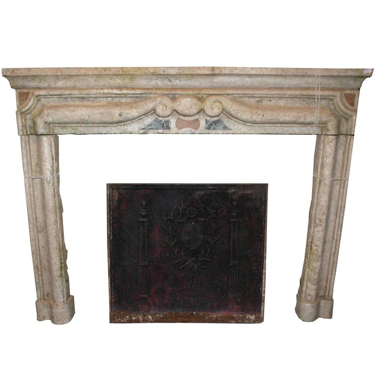 Antique Gassino 39 S Marble Fireplace Mantel For Sale At 1stdibs