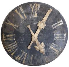 French Iron Decorative Wall Clock