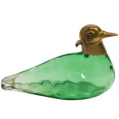 Austrian Perfume Bottle in the Form of a Bird