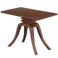 "Paul Frankl ""Bell"" Side Table for Brown Saltman"