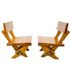 Pair of Ernesto Gomez Gallardo Chairs