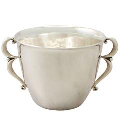 Danish Sterling Silver Tumbler Cup by Georg Jensen, Antique