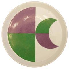 Single Gio Ponti Plate, Italy, 1960s