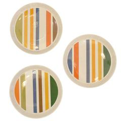 Set of Three Gio Ponti Plates #1, Italy, 1960s
