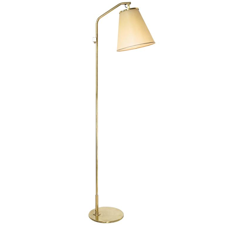 Paavo Tynell Floor Lamp Model 9613, Taito Oy, 1940s For Sale