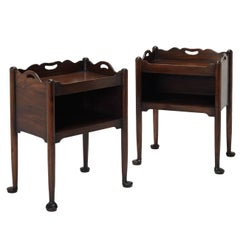 Bedside Commodes in the Georgian manner