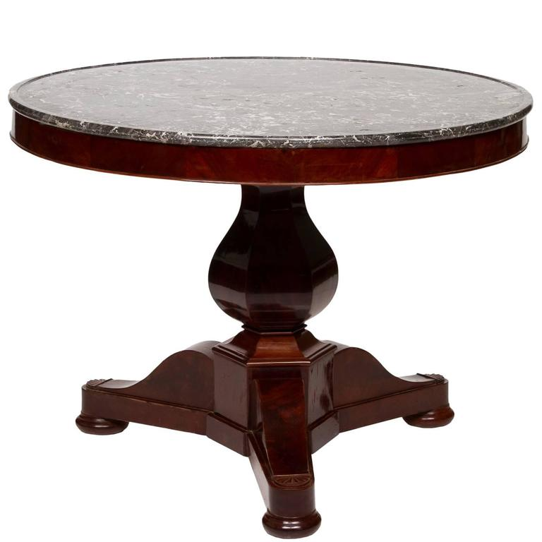 19th century louis philippe gueridon at 1stdibs for Table ronde louis philippe