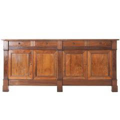 French Louis Philippe Walnut Enfilade