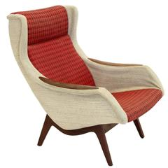 Rare Lounge Chair by Rolf Hesland