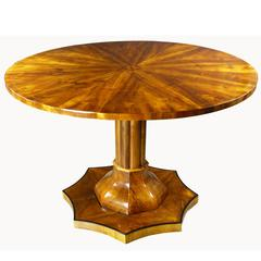 Early 19th century Biedermeier Swedish Circular / Round Table