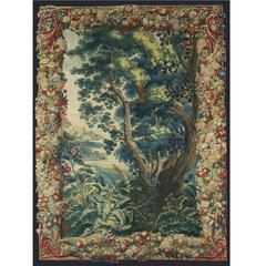 Brussels Manufactory Tapestry Landscape, Beginning of 18th Century