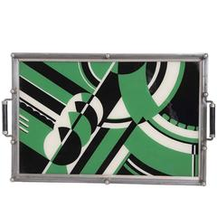Uncommon Art Deco Jazz Cocktail Tray
