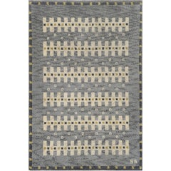 Early 20th Century Swedish Deco Rug by Sigvard Bernadotte
