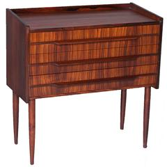 Rosewood Danish Bedside Table