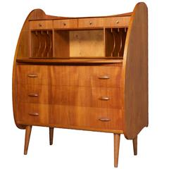 Danish Teak Atomic Secretary