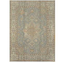 Antique Room Size Turkish Oushak Rug