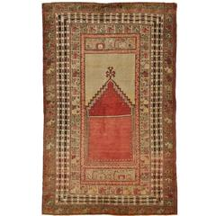 Antique Small Turkish Rug