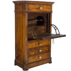19th Century Louis Philippe Miniature Secretaire