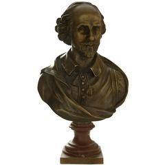 Bust of Shakespeare, 1860