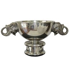 Figura Piero Silver Plated Pewter Champagne Cooler