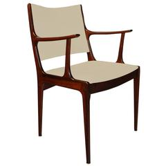 Johannes Andersen Rosewood Dining Chairs, Set of Six