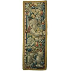 Antique Brussels Baroque Tapestry, circa 17th Century
