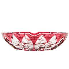 Vintage Saint Louis Cut Crystal Ash Tray