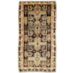Vintage Russian Karabagh Rug