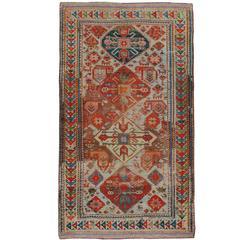 Antique Russian Kazak Rug