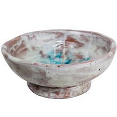 Alice Colonieu 1950s Large Ceramic Bowl
