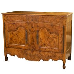 19th Century French Provincial Elm Buffet