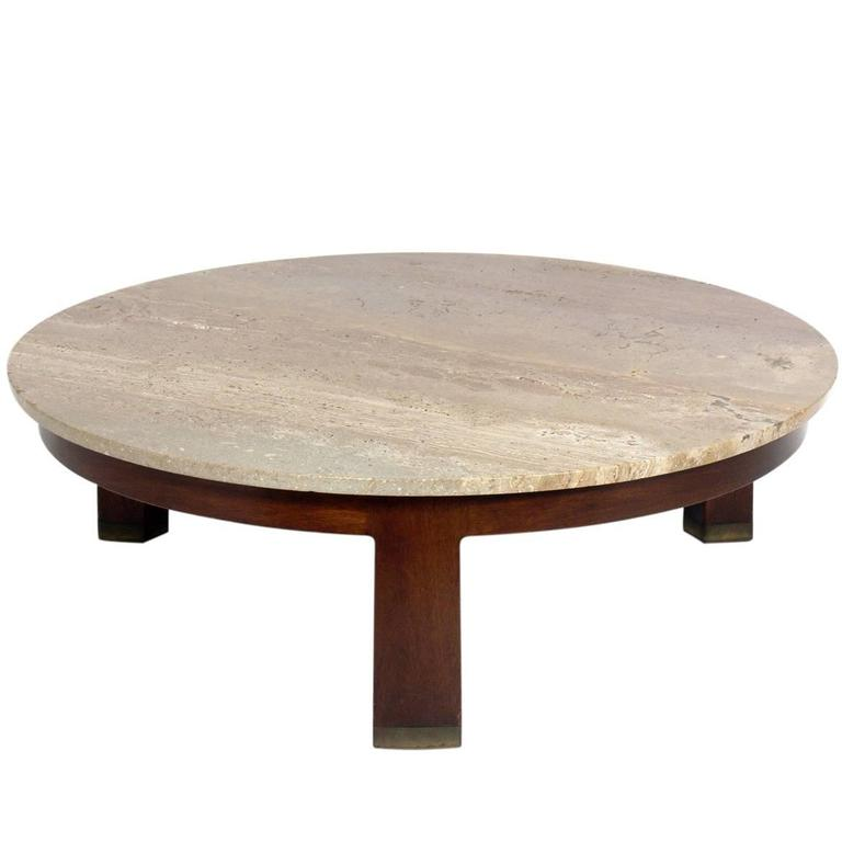 Clean Lined Modern Coffee Table By Edward Wormley For Dunbar At 1stdibs
