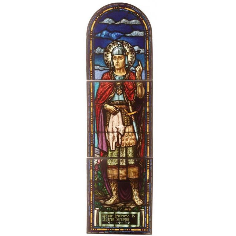 Exquisite, Large 19th Century Stained Glass Window