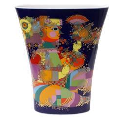 Vintage 1960s Rosenthal Studio Linie Porcelain Vase by Björn Wiinblad