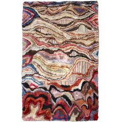 """Amazonia"" Colorful Handwoven Boccara's Rug"
