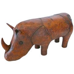 Leather Rhinoceros by Omersa for Abercrombie & Fitch