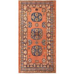 Early 18th Century Antique East Turkestan Khotan Rug