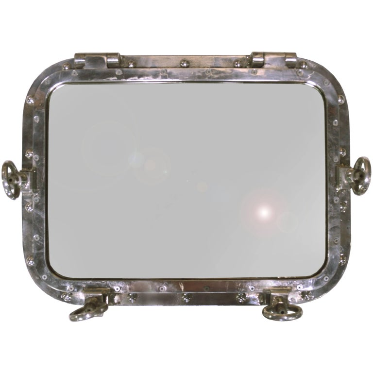 Window Frame Mirror