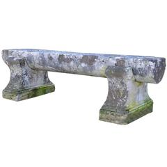 Large Stone Bench, 19th Century