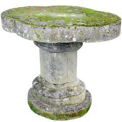 Stone Garden Table, circa 1820