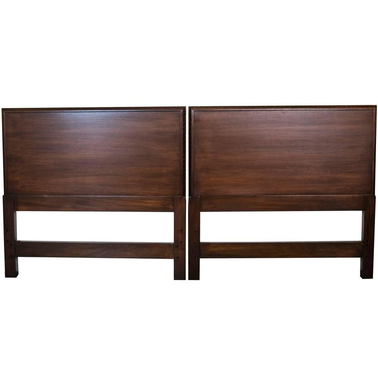 Pair Of Frank Lloyd Wright For Henredon Twin Headboards At 1stdibs