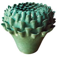 Khloris Aqua Vase by NB Milano