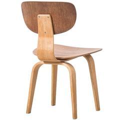 Cees Braakman SB02 Chairs UMS Pastoe, 1952