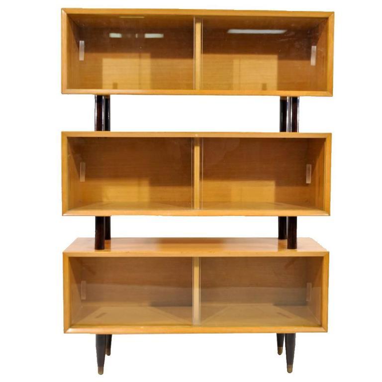 Mid-Century Three-Tiered Cabinet 1