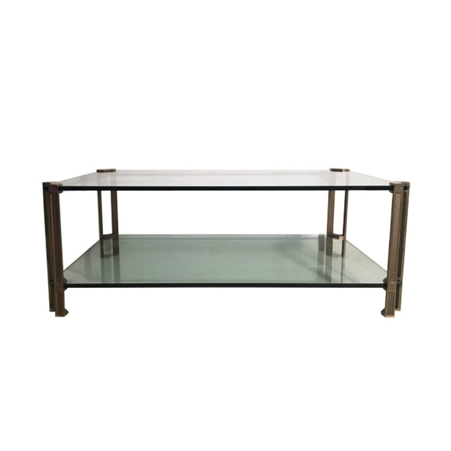T24D Brass And Glass Coffee Table Designed By Peter Ghyczy, 1979 Part 96