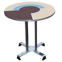 Alfons Bach for Lloyds Geometric Art Deco Side Table