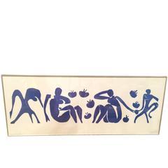 Large Matisse Femmes et Singes Poster