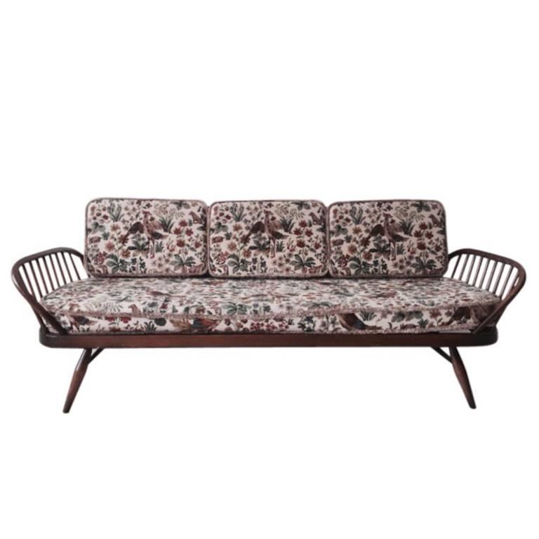 studio sofa daybed couch model 355 designed by lucian ercolani in the 1950s